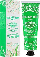Parfémy, Parfumerie, kosmetika Krém na ruce - Institut Karite So Chic Hand Cream Lily Of The Valley