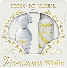 Parfémy, Parfumerie, kosmetika Ulric De Varens Varensia White - Sada (edp/50ml + deo/125ml)
