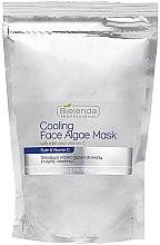 Parfémy, Parfumerie, kosmetika Alginátová maska na obličej s rutinem a vitaminem C - Bielenda Professional Cooling Face Algae Mask (náhradní náplň)
