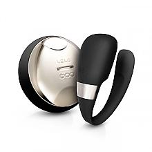 Parfémy, Parfumerie, kosmetika Partnerský vibrátor, černý - Lelo Tiani 3 Black