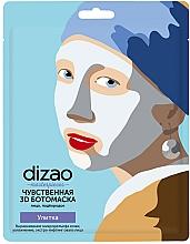 Parfémy, Parfumerie, kosmetika Boto maska na obličej a bradu Smyslná 3D - Dizao