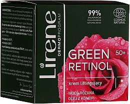 Parfémy, Parfumerie, kosmetika Denní krém-lifting na obličej - Lirene Green Retinol Lifting Day Cream 50+
