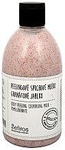 Parfémy, Parfumerie, kosmetika Sprchové mléko - Sefiros Body Peeling Cleansing Milk Pomegranate