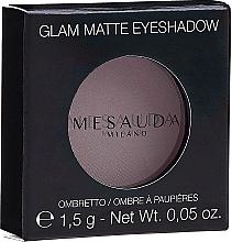 Parfémy, Parfumerie, kosmetika Matné oční stíny - Mesauda Milano Glam Matte Eye Shadow