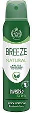 Parfémy, Parfumerie, kosmetika Breeze Deo Spray Natural Essence - Tělový deodorant