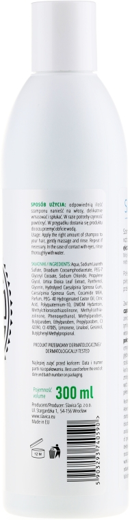 Micelární šampon pro mastné vlasy Kopřiva - Slavica Micellar Shampoo — foto N2