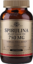 Parfémy, Parfumerie, kosmetika Spirulina - Solgar Spirulina Plant Plankton