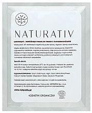 Parfémy, Parfumerie, kosmetika Zklidňující a hydratační maska na obličej s rýží - Naturativ Face Mask