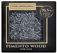 Parfémy, Parfumerie, kosmetika Tuhý šampon - Stara Mydlarnia Pimento Wood Shampoo Bar