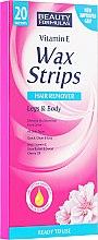 Parfémy, Parfumerie, kosmetika Voskové pásky - Beauty Formulas Wax Strips Hair Remover Legs & Body