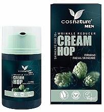 Parfémy, Parfumerie, kosmetika Přírodní krém proti vráskám s chmelovým extraktem - Cosnature Men