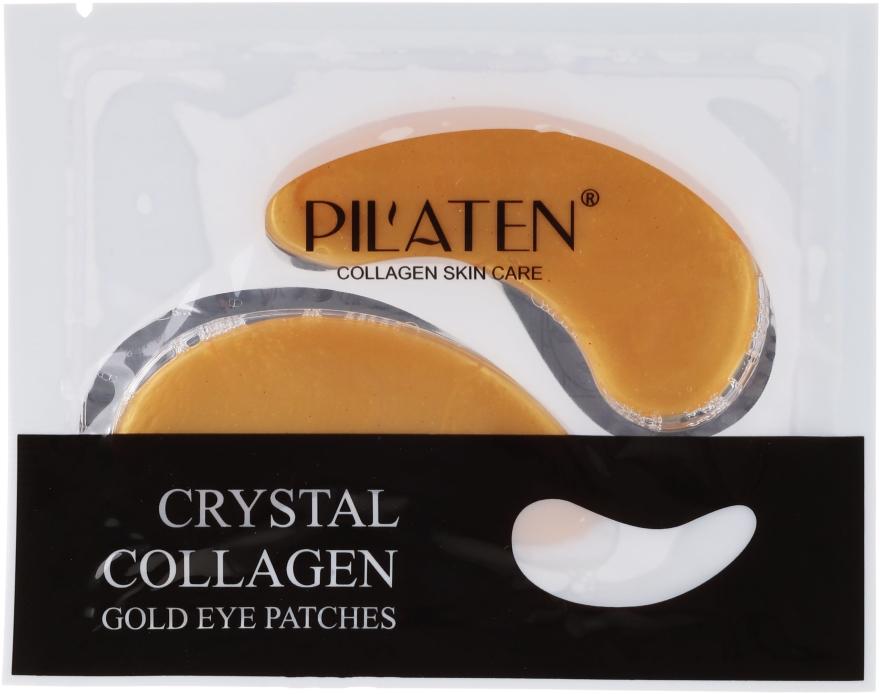 Oční masky-náplasti s kolagenem - Pilaten Crystal Collagen Gold Eye Mask