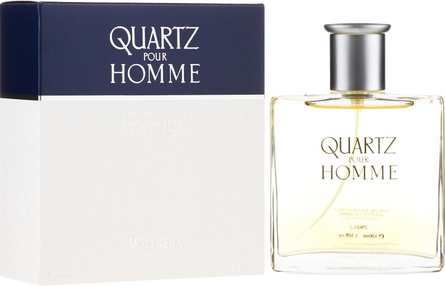Molyneux Quartz Pour Homme - Toaletní voda — foto N1
