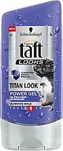 Parfémy, Parfumerie, kosmetika Gel na vlasy - Schwarzkopf Taft Looks Titan Look Extreme Gel Radically Strong