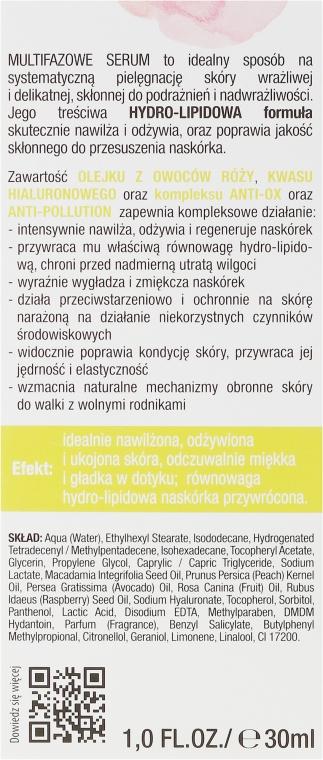 Dvoufázové sérum na obličej - Bielenda Rose Care Serum For Sensitive Skin — foto N3
