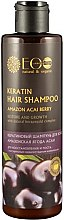 Parfémy, Parfumerie, kosmetika Keratinový šampon pro oživení a růst - ECO Laboratorie Keratin Hair Shampoo Amazon Acai Berry