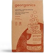 """Parfémy, Parfumerie, kosmetika Tablety pro čištění zubů """"Pomeranč"""" - Georganics Natural Toothtablets Orange (náhradní náplň )"""