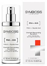 Parfémy, Parfumerie, kosmetika Noční omlazující oční sérum - Symbiosis London Overnight Rejuvenating Eye Serum