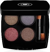 Parfémy, Parfumerie, kosmetika Oční stíny Množství efektů - Chanel Les 4 Ombres Multi-Effect Quadra Eyeshadow