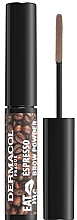 Parfémy, Parfumerie, kosmetika Pudr na obočí - Dermacol Eat Me Espresso Eyebrow Powder