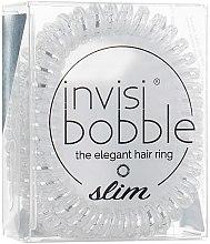 Parfémy, Parfumerie, kosmetika Gumičká- náramek na vlasy - Invisibobble Slim Chrome Sweet Chrome