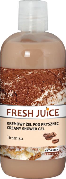 Krémový sprchový gel Tiramisu - Fresh Juice Tiramisu Creamy Shower Gel