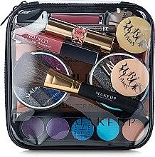 """Parfémy, Parfumerie, kosmetika Transparentní kosmetická taštička """"Visible Bag"""" 17x17x6cm (bez kosmetických prostředků) - MakeUp"""