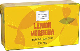 Parfémy, Parfumerie, kosmetika Mýdlo - Scottish Fine Soaps Lemon & Verbena Luxury Wrapped Soap