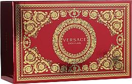 Parfémy, Parfumerie, kosmetika Versace Eros Flame - Sada (edp/100ml + edp/10ml + pounch)