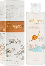Parfémy, Parfumerie, kosmetika Vyživující toner s hlemýždím mucinem - Esfolio Nutri Snail Daily Toner