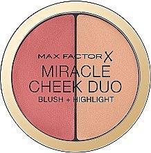 Parfémy, Parfumerie, kosmetika Paleta na konturování obličeje - Max Factor Miracle Cheeck Duo