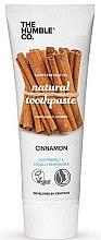 Parfémy, Parfumerie, kosmetika Přírodní skořicová zubní pasta - The Humble Co. Natural Toothpaste Cinnamon