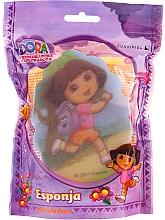 """Parfémy, Parfumerie, kosmetika Dětská houba """"Dora"""", 169-13, žlutá - Suavipiel Dora Bath Sponge"""