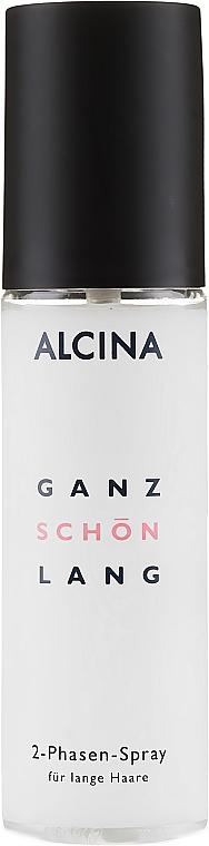 Dvoufázový sprej pro dlouhé vlasy - Alcina Ganz Schon Lang 2-Phasen-Spray