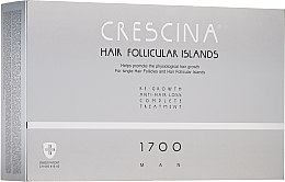 Parfémy, Parfumerie, kosmetika Komplex pro léčbu vypadávání vlasů u mužů 1700 - Crescina Hair Follicular Islands Man Complete Treatment 1700