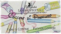 Parfémy, Parfumerie, kosmetika Mýdlo přírodní dětské Květy bavlny - Florinda Sapone Cotton Flower