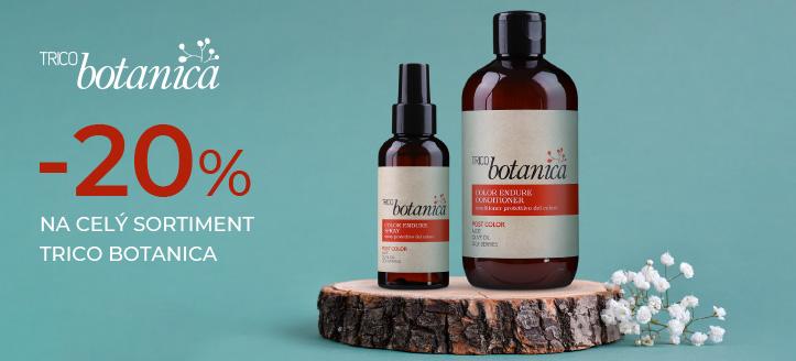 Sleva až -20% na celý sortiment Trico Botanica. Ceny na webu jsou včetně slev