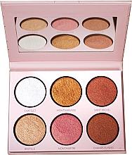 Parfémy, Parfumerie, kosmetika Paletka rozjasňovačů - LP Makeup L'Essentiel Paper Highlight Palette