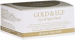 Parfémy, Parfumerie, kosmetika Hydrogelové oční náplasti se zlatem - Petitfee & Koelf Gold&EGF Eye&Spot Patch