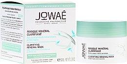 Parfémy, Parfumerie, kosmetika Osvěžující minerální maska pro citlivou plet' - Jowae Masque Clarifying Mineral Mask