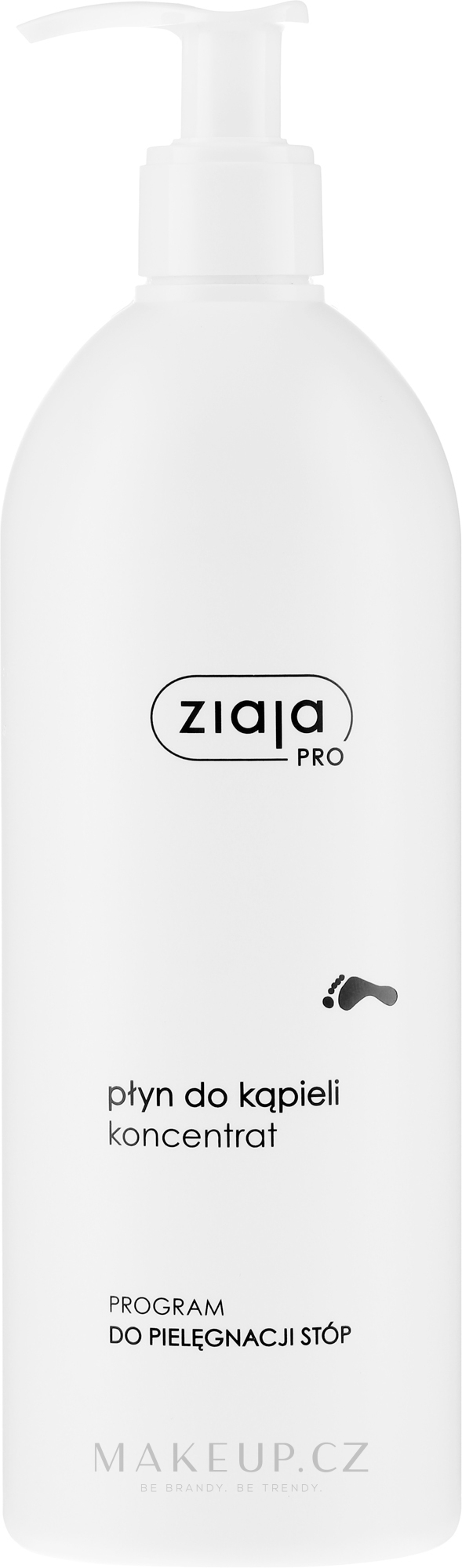 Koncentrovaná voda do koupele - Ziaja Pro Concentrated Bath Liquid — foto 500 ml