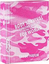 Parfémy, Parfumerie, kosmetika Omerta Body Survival For Woman - Parfémovaná voda