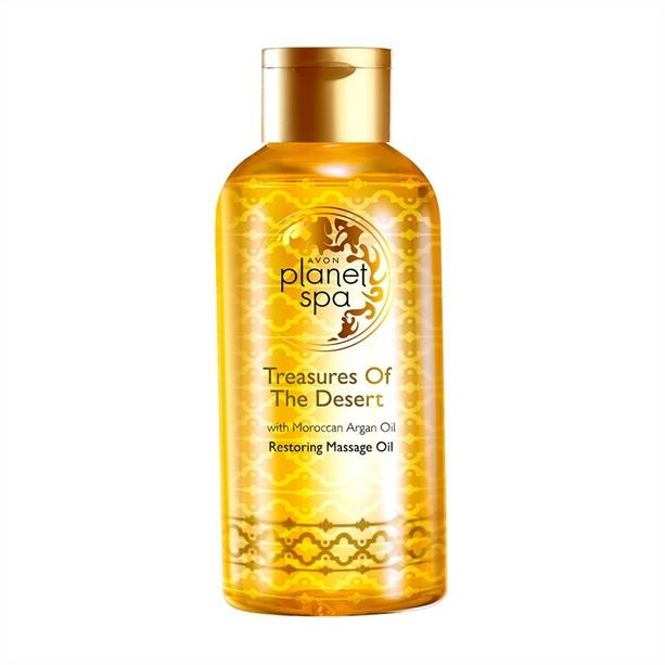 Olej na kosmetickou péči Poklad pouště - Avon Planet Spa Restoring Massage Oil