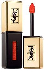 Parfémy, Parfumerie, kosmetika Tekutá rtěnka - Yves Saint Laurent Rouge Pur Couture Vernis a Levres Glossy Stain (Limited Edition)