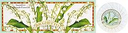 Parfémy, Parfumerie, kosmetika Sada mýdel Lanýž - Saponificio Artigianale Fiorentino Lily Of The Valley Soap