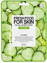 Parfémy, Parfumerie, kosmetika Plátýnková pleťová maska Okurka - Superfood For Skin Facial Sheet Mask Cucumber Soothing