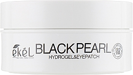 Parfémy, Parfumerie, kosmetika Hydrogelové náplasti pod oči s černou perlou - Ekel Ample Hydrogel Eyepatch