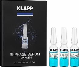 """Parfémy, Parfumerie, kosmetika Dvoufázové sérum """"Kyslík"""" - Klapp Bi-Phase Serum Oxygen"""