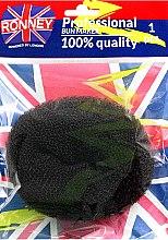 Parfémy, Parfumerie, kosmetika Váleček na vlasy, černý - Ronney Professional Bun Maker