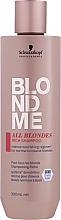 Parfémy, Parfumerie, kosmetika Obohacený šampon pro všechny typy vlasů - Schwarzkopf Professional Blondme All Blondes Rich Shampoo